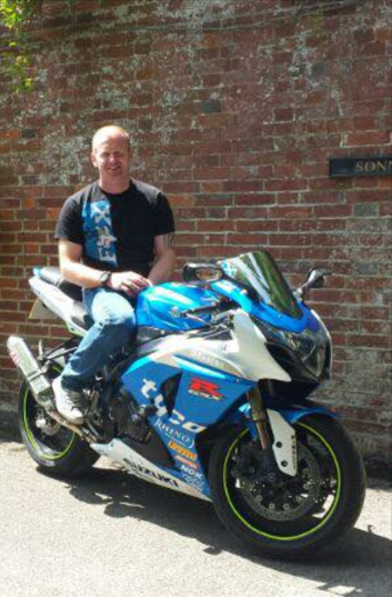 Richard Doherty and GSXR1000